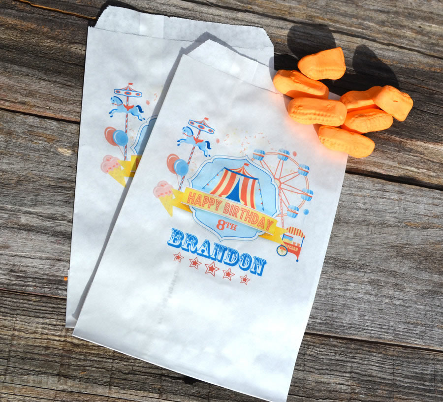 personalized carnival bags