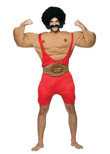 carnival strong man costume adult