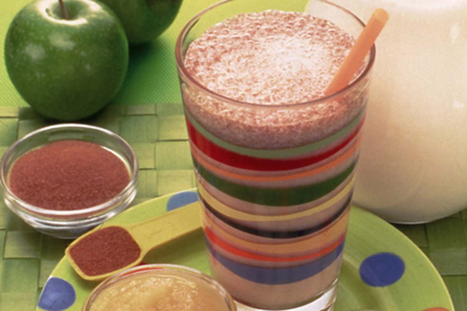 carnival party drink Caramel Apple Milkshakes