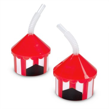 carnival big top sipper cups