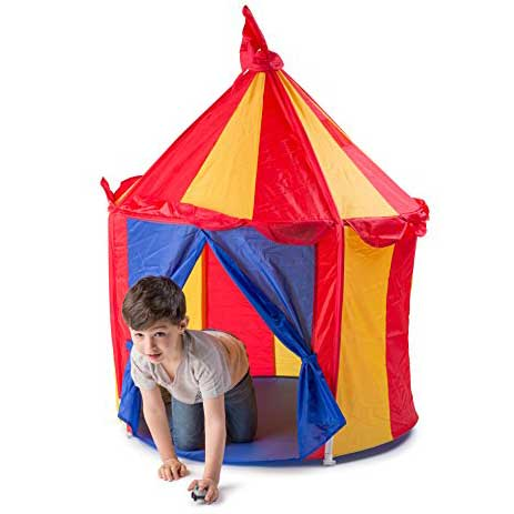 carnival big top play tent