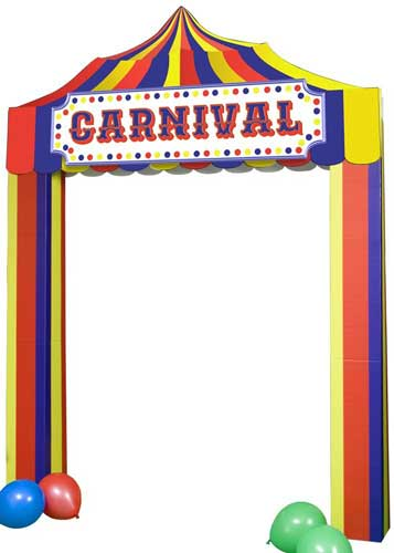 carnival booth standee