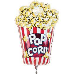 carnival popcorn balloon