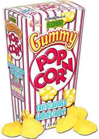 gummi popcorn