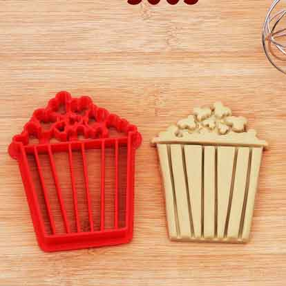 carnival popcorn cookie cutter