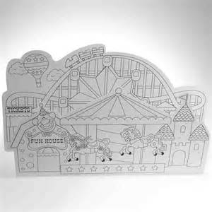 carnival party games coloring