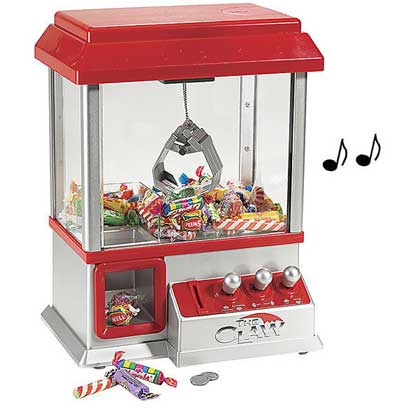 candy grabber carnival claw machine