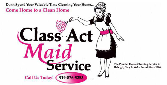maid service flyer