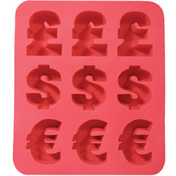 money ice cube tray