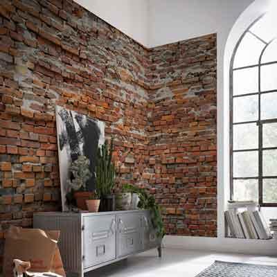 brick contact paper