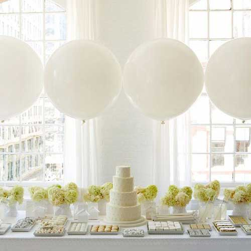 36 inch giant balloon dessert table backdrop