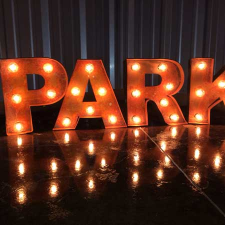 marquee light letter signs