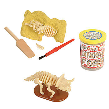 make dinosaur fossils