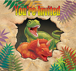 cheap dinosaur invitations