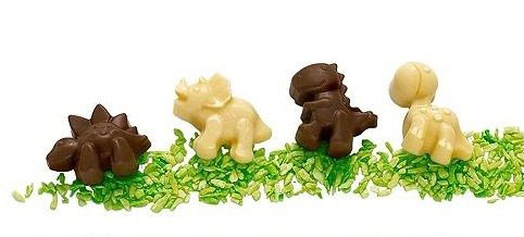 dinosaur chocolate