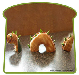 dinosaur party ideas dinosaur sandwiches