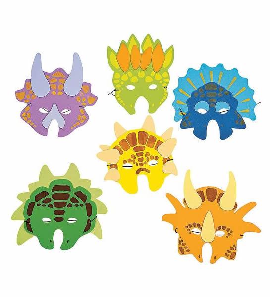 dinosaur masks