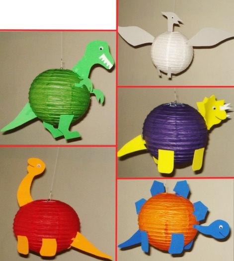 dinosaur lanterns