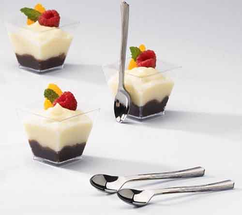 disposable mousse cups