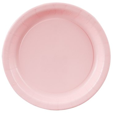round party plates