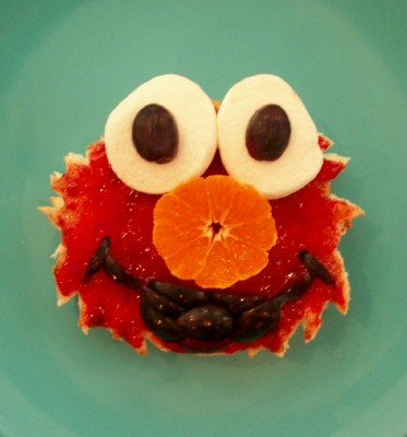 elmo birthday party ideas elmo sandwich