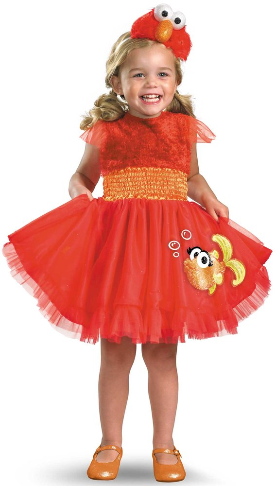 elmo girls costume
