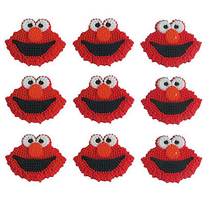 elmo cake decorations