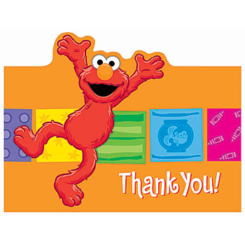 elmo thank you notes