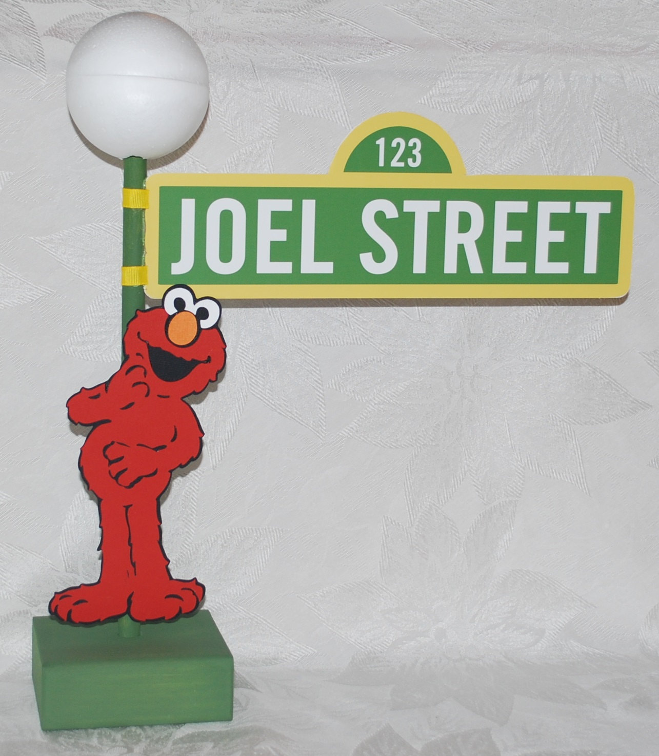 personalized sesame street lamp post