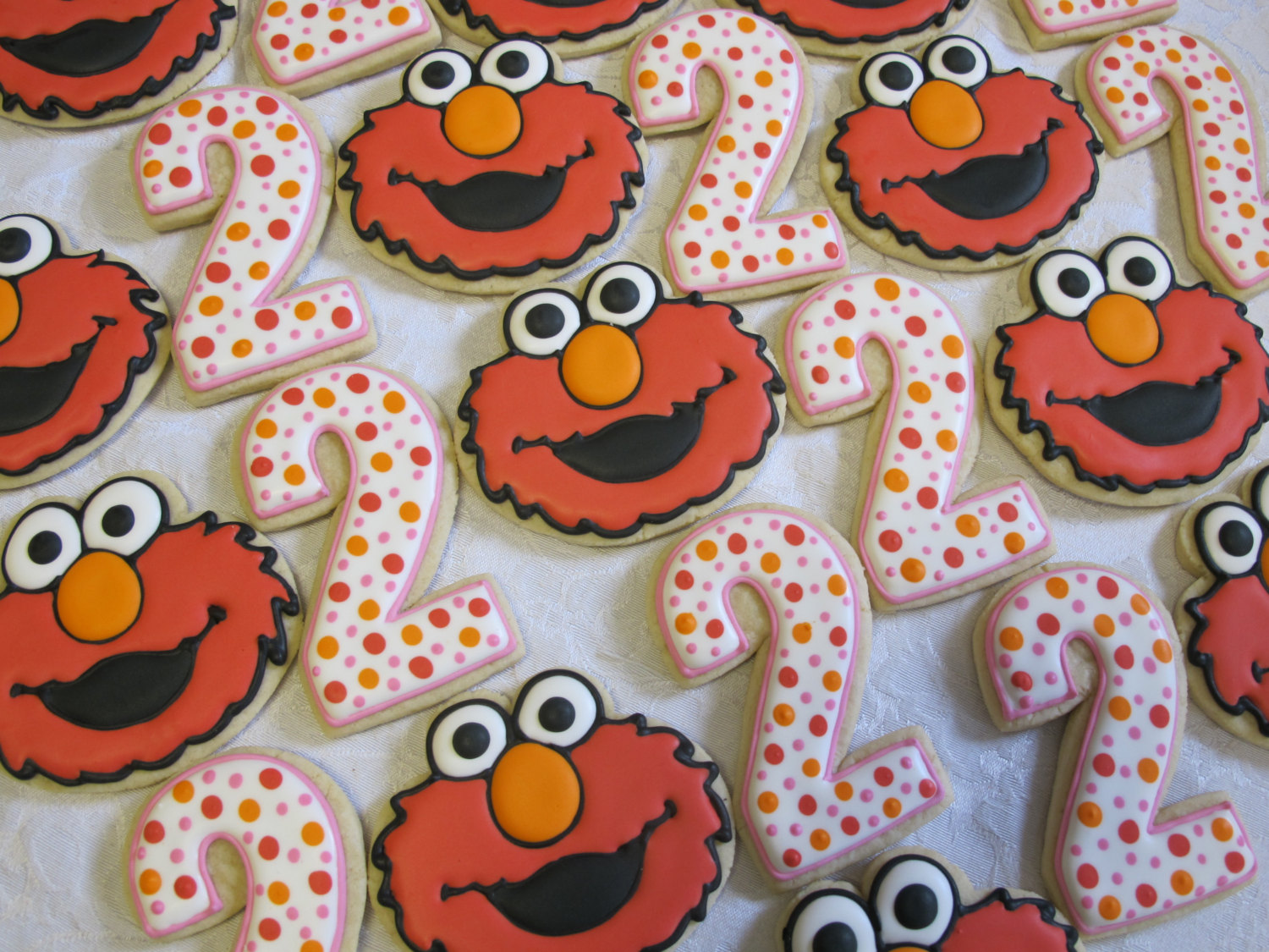 Elmo Cookies Chocolate Candy