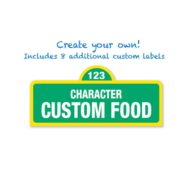 printable sesame street labels