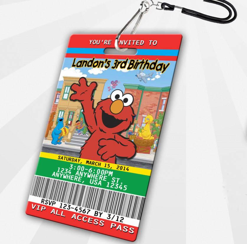 elmo VIP pass