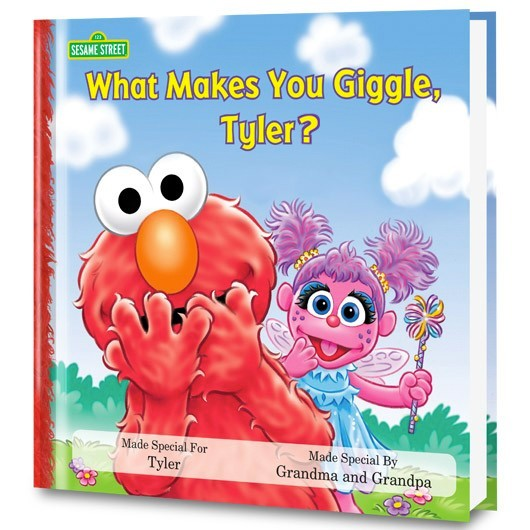 personalized elmo book