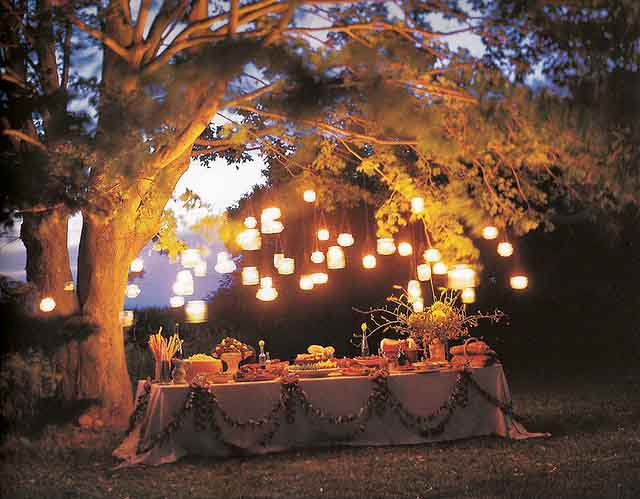Decorations For Backyard Party : Garden Party Decorations  by a Professional Party Planner