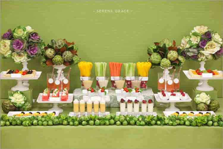 garden party table decorations