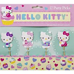 hello kitty food picks