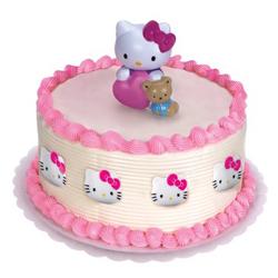 hello kitty cake topper