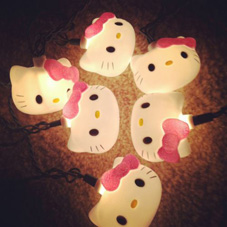 hello kitty string lights