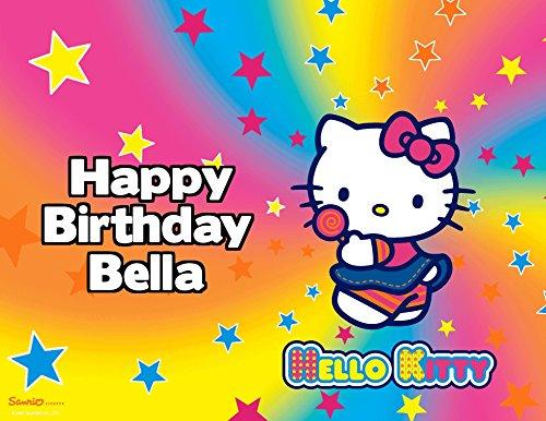 Hello Kitty edible image