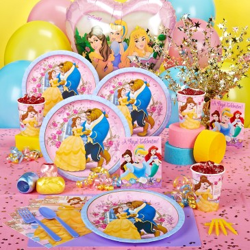 kid birthday party ideas beauty & beast