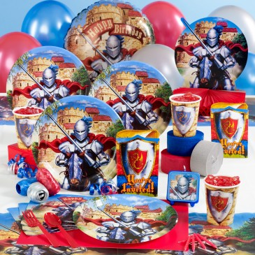 KID BIRTHDAY PARTY IDEAS KNIGHTS