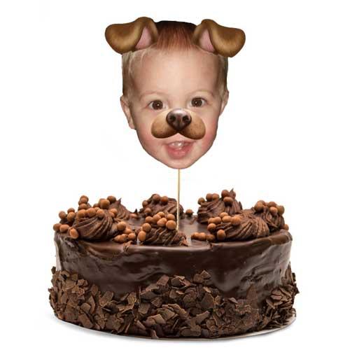 custom photo cake topper cake topper
