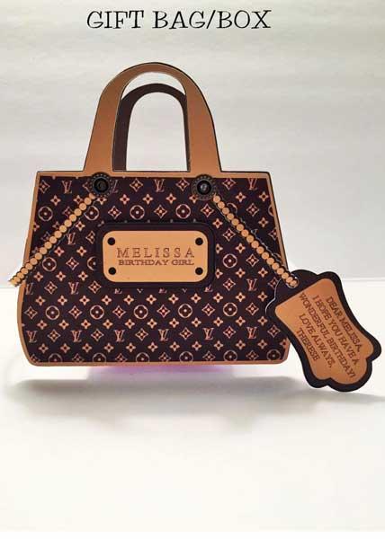 handbag invitation