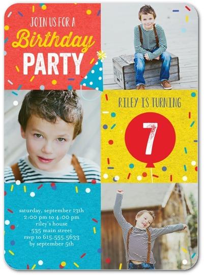 custom photo invitation