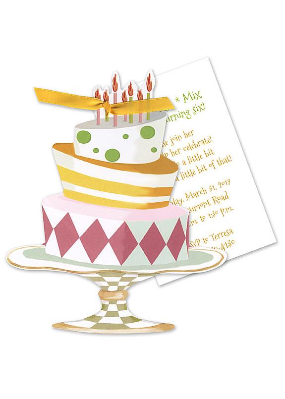 cake invitation