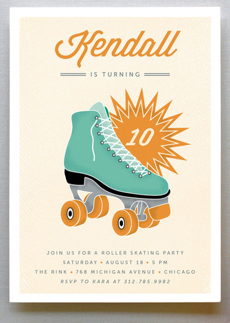 rollerboot invitation invitation