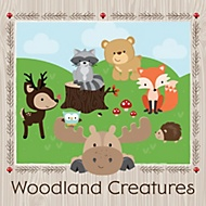 woodland creatures party theme