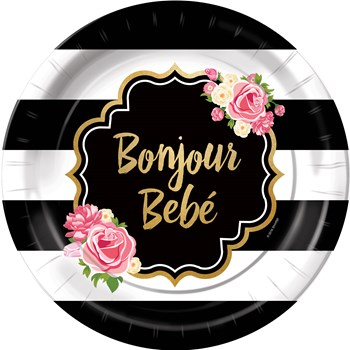 bonjour bebe party theme