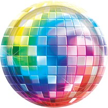 disco mirrorball theme