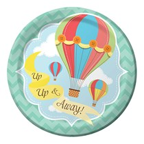up up and away party theme